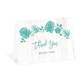 Tropical - Thank You Card