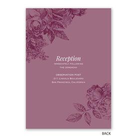 Garden Grace - Invitation with Free Response Postcard