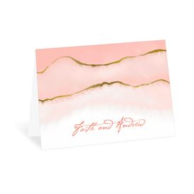 Golden Ombre - Thank You Card