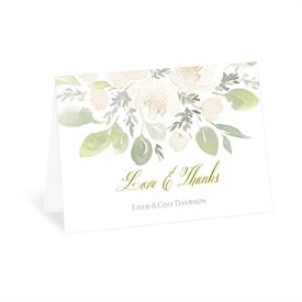 Fresh Floral - Thank You Card