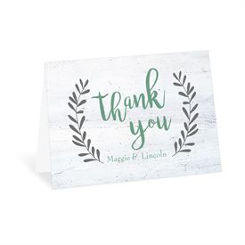 Wedding Thank You Cards: He Loved Us First Thank You Card
