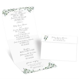Inspired Greens Seal and Send Invitation