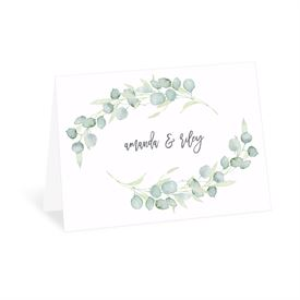 Wedding Thank You Cards: Painted Greenery Thank You Card