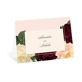 Wedding Thank You Cards: Vintage Blooms Thank You Card
