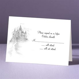 Happily Ever After - Response Card and Envelope
