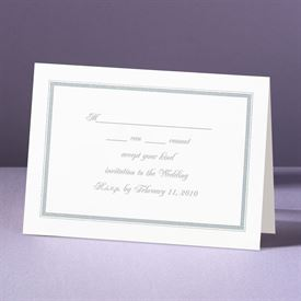 Appealing Borders - Response Card and Envelope