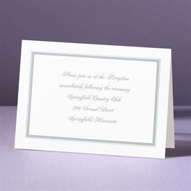 Appealing Borders - Reception Card