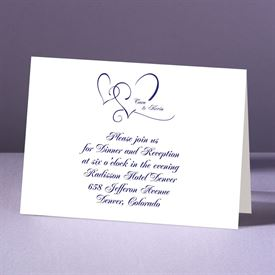 With Love - Reception Card