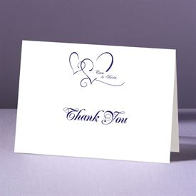 With Love - Thank You Card and Envelope