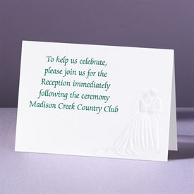 Star Gazing - Reception Card