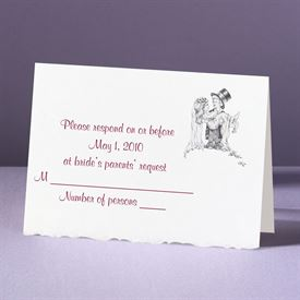Days of Innocence - Response Card and Envelope