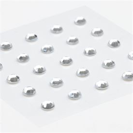 Rhinestones Stickers - Clear