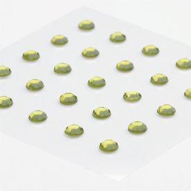 Rhinestone Stickers - Olive