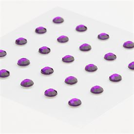 Rhinestones Stickers - Purple