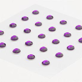 Rhinestones Stickers - Purple