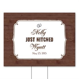 Wedding Yard Signs: 
