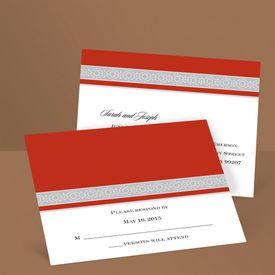 Band of Silver - Scarlet - Response Postcard
