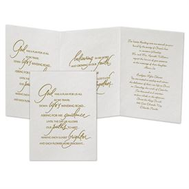 Christian Wedding Invitations Anns Bridal Bargains