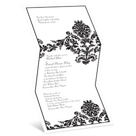 Damask Wedding Invitations: 