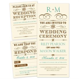 Wedding Invitations Thermography: 