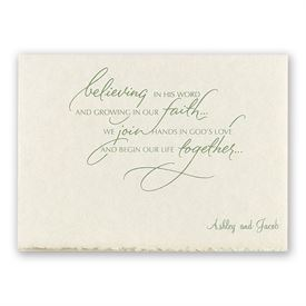 A New Life Together Invitation