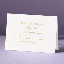 A Spiritual Path - Response Card and Envelope