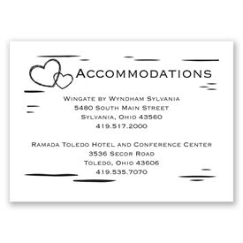 Sweetly Carved - Accommodations Card