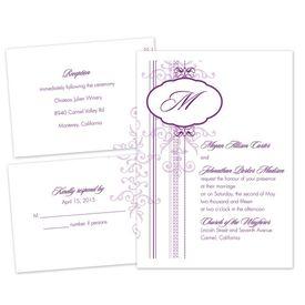 Pretty Patterns - Separate and Send Invitation