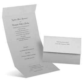 Winter Wedding Invitations: Shine Bright  Seal and Send Invitation