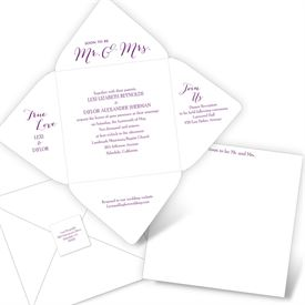 Mr. & Mrs. - Seal and Send Invitation
