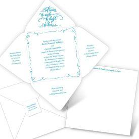 Smile, Laugh, Love -  Seal and Send Invitation