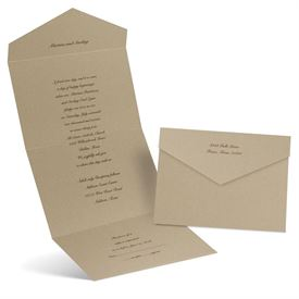 Solid Gold - Seal and Send Invitation