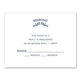 Vintage Allure - Response Card and Envelope