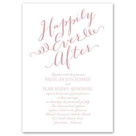 Wedding Invitations: Fairy Tale Whimsy Invitation