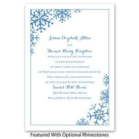 Snowflake Sensation - Invitation