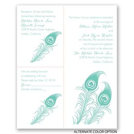 Love for Feathers - Separate and Send Invitation