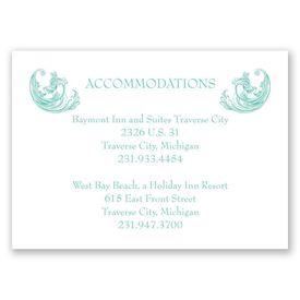 Filigree Wisps - Accommodations Card