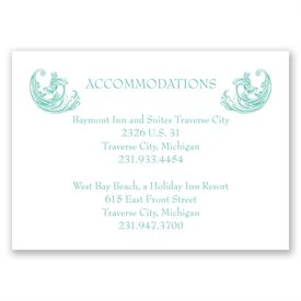 Filigree Wisps - Accommodations Card