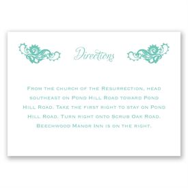 Lovely Lace - Map Card