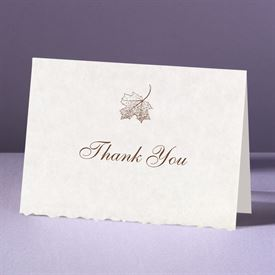 Wedding Thank You Cards: Falling In Love Thank You Card and Envelope