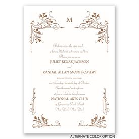 Fairytale Border - Invitation