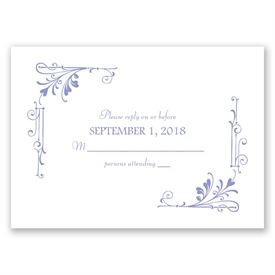Fairytale Border - Response Card