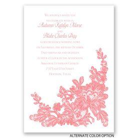 Lace Detail - Invitation