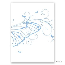 Butterfly Journey - Invitation