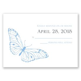 Butterfly Journey - Response Card