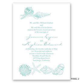 Starfish Fancy - Invitation