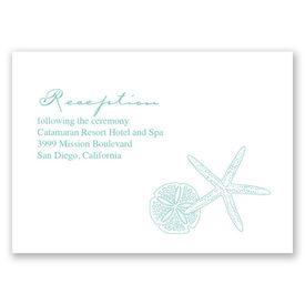 Starfish Fancy - Reception Card