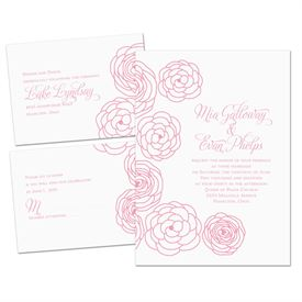 Simply Floral - Separate and Send Invitation