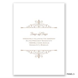 Victorian Filigree - Invitation
