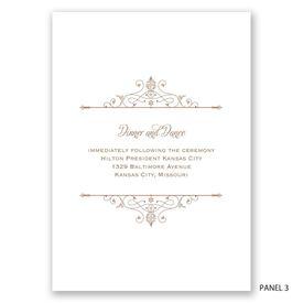 Victorian Filigree - Invitation